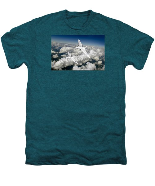 Two Avro Vulcan B1 Nuclear Bombers Men's Premium T-Shirt