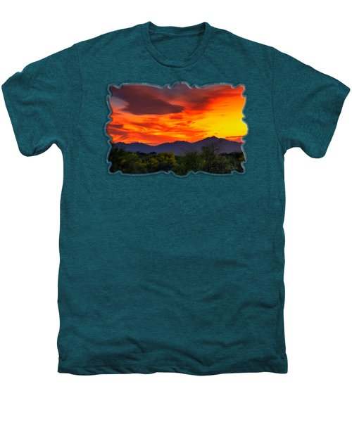 Valley Sunset H32 Men's Premium T-Shirt by Mark Myhaver