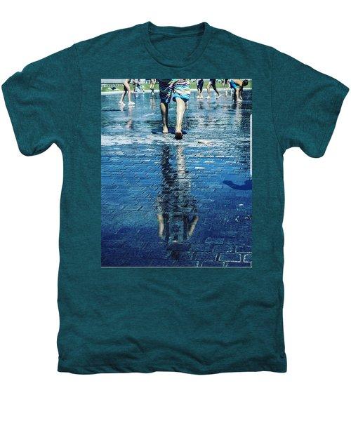 Walking On The Water Men's Premium T-Shirt