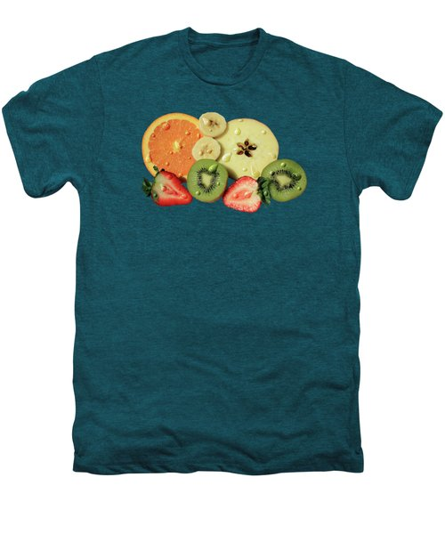 Wet Fruit Men's Premium T-Shirt by Shane Bechler