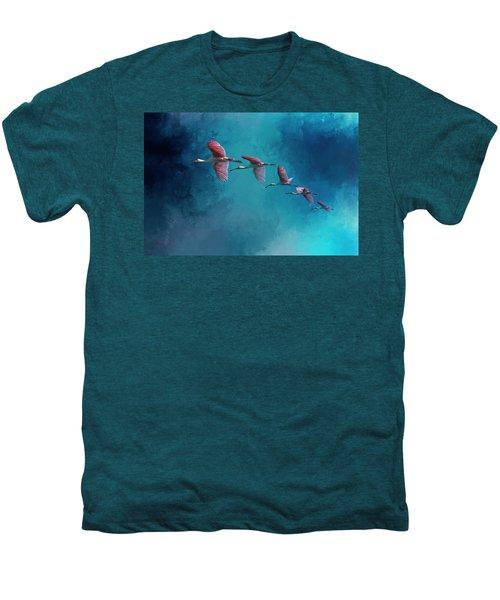 Wind Surfing Men's Premium T-Shirt