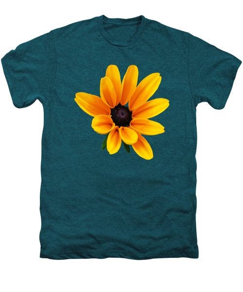 Yellow Flower Black-eyed Susan Men's Premium T-Shirt