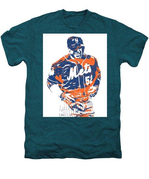 Yoenis Cespedes New York Mets Pixel Art 3 Men's Premium T-Shirt