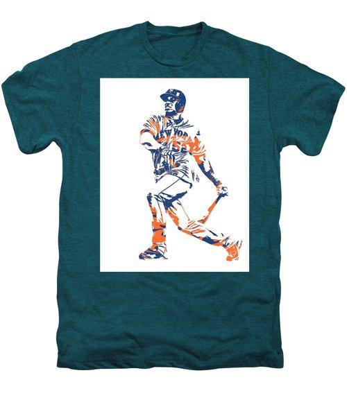 Yoenis Cespedes New York Mets Pixel Art 4 Men's Premium T-Shirt