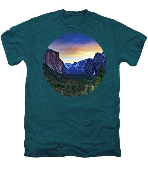 Yosemite Sunrise Men's Premium T-Shirt by Adam Morsa