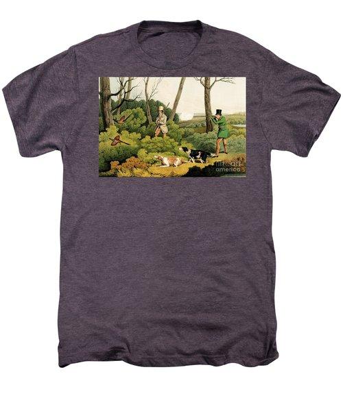 Pheasant Shooting Men's Premium T-Shirt