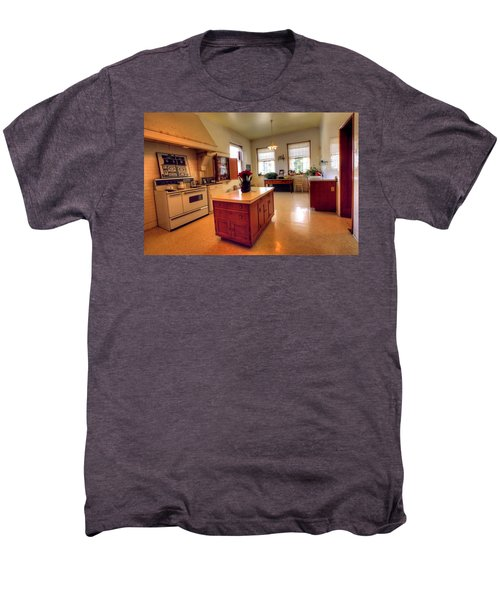 Glensheen Mansion Duluth Men's Premium T-Shirt by Amanda Stadther