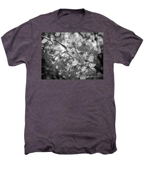 Akebono In Monochrome Men's Premium T-Shirt by Peggy Hughes