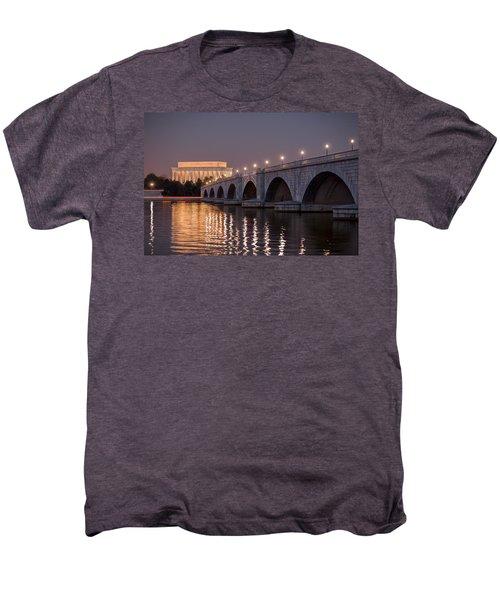 Arlington Memorial Bridge Men's Premium T-Shirt