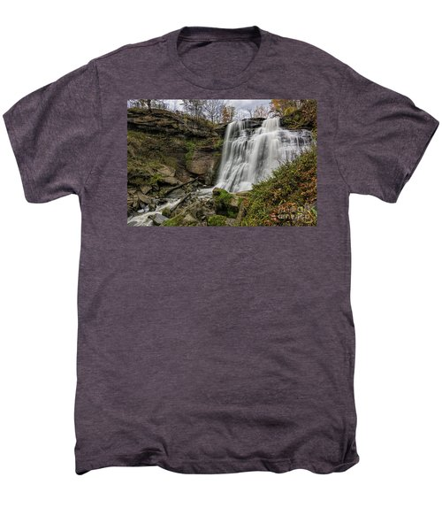 Brandywine Falls Men's Premium T-Shirt by James Dean