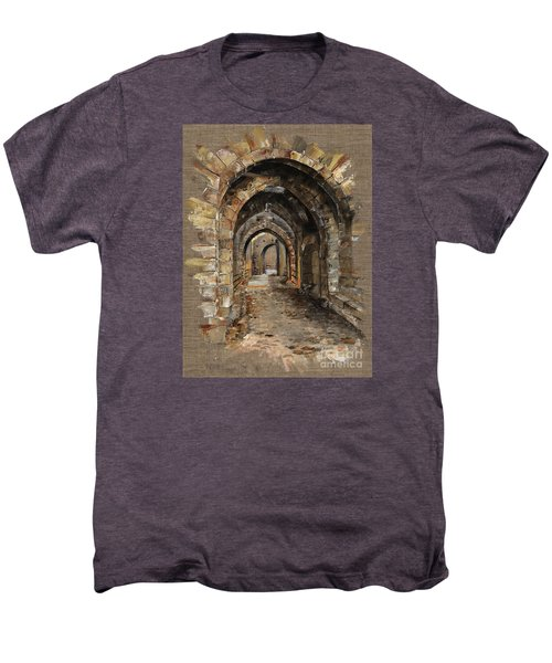 Camelot -  The Way To Ancient Times - Elena Yakubovich Men's Premium T-Shirt