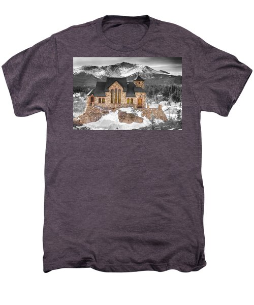 Chapel On The Rock Bwsc Men's Premium T-Shirt by James BO  Insogna