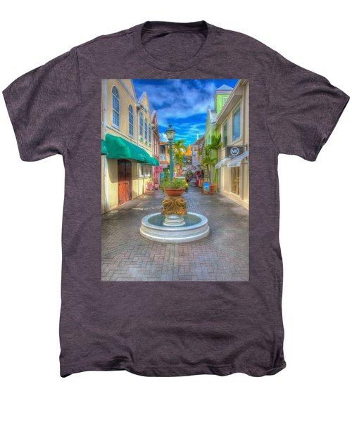 Classic Hdr Fountain Men's Premium T-Shirt