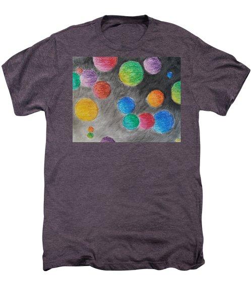 Colorful Orbs Men's Premium T-Shirt