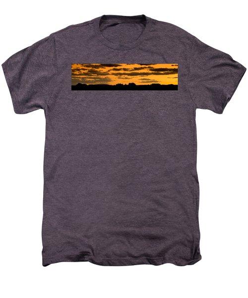 Desert Sky Panorama Men's Premium T-Shirt