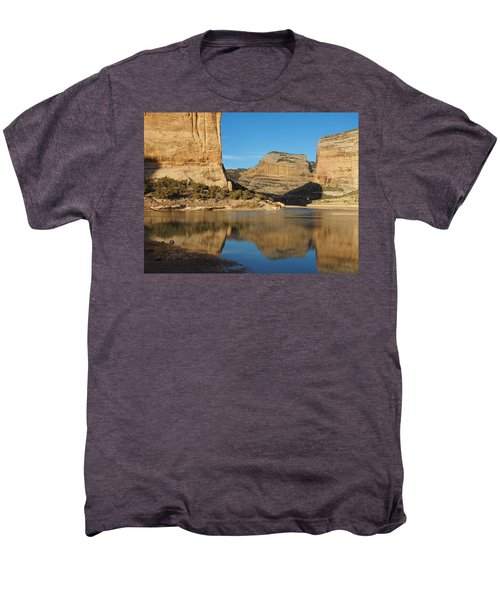 Echo Park In Dinosaur National Monument Men's Premium T-Shirt