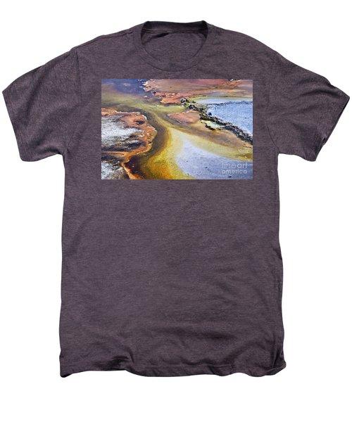 Fountain Paint Pot Men's Premium T-Shirt