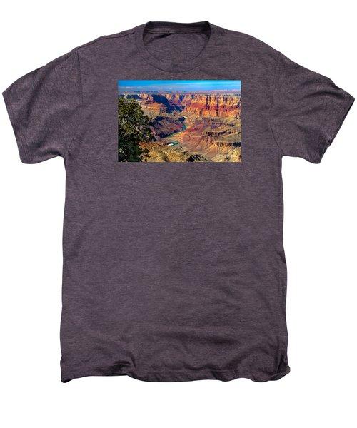 Grand Canyon Sunset Men's Premium T-Shirt