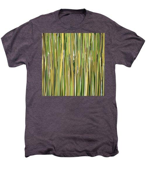 Green Melodies Men's Premium T-Shirt by Lourry Legarde