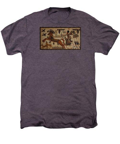 Hunting Scene Men's Premium T-Shirt