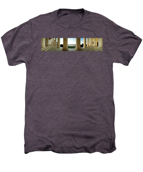 Jefferson Memorial Washington Dc Men's Premium T-Shirt by Panoramic Images