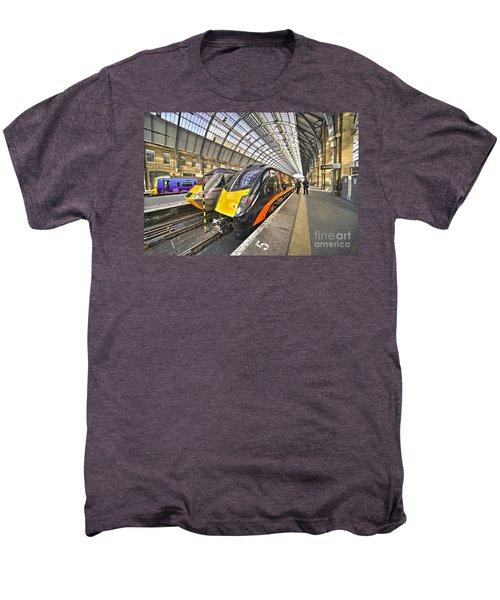 Kings Cross Variety  Men's Premium T-Shirt by Rob Hawkins