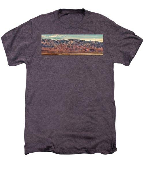 Landscape With Mountain Range Men's Premium T-Shirt