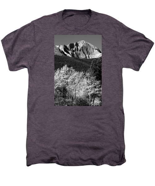 Longs Peak 14256 Ft Men's Premium T-Shirt by James BO  Insogna
