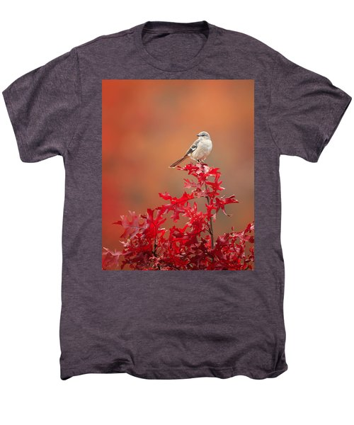 Mockingbird Autumn Men's Premium T-Shirt by Bill Wakeley
