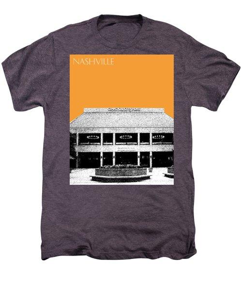 Nashville Skyline Grand Ole Opry - Orange Men's Premium T-Shirt