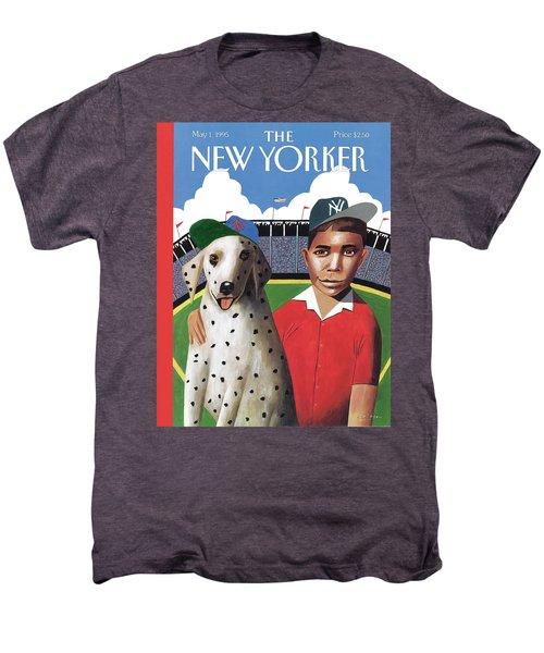New Yorker May 1st, 1995 Men's Premium T-Shirt