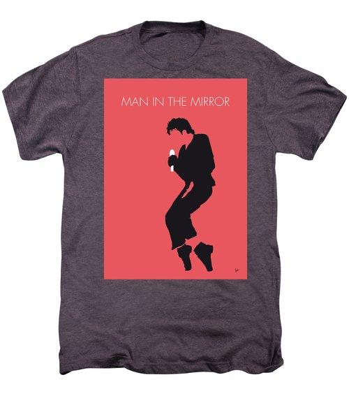 No032 My Michael Jackson Minimal Music Poster Men's Premium T-Shirt