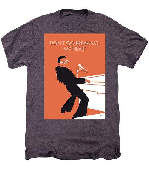 No053 My Elton John Minimal Music Poster Men's Premium T-Shirt