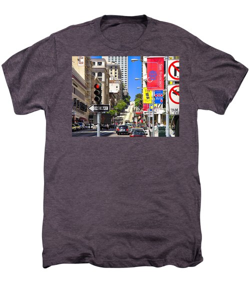 Nob Hill - San Francisco Men's Premium T-Shirt
