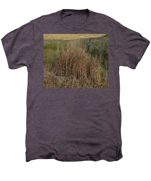 Old Fence Line Men's Premium T-Shirt