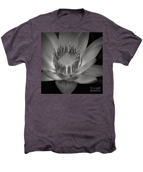 Om Mani Padme Hum Hail To The Jewel In The Lotus Men's Premium T-Shirt by Sharon Mau