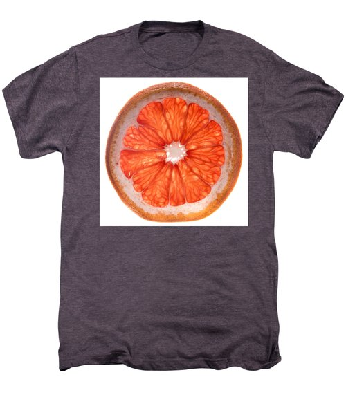 Red Grapefruit Men's Premium T-Shirt by Steve Gadomski