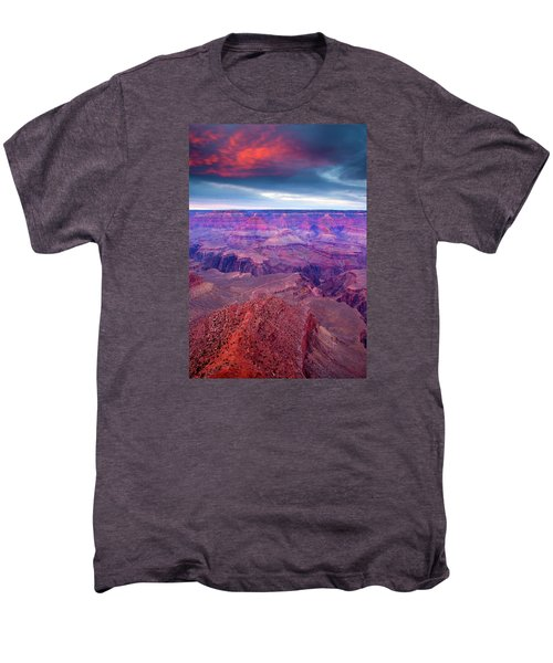 Red Rock Dusk Men's Premium T-Shirt by Mike  Dawson