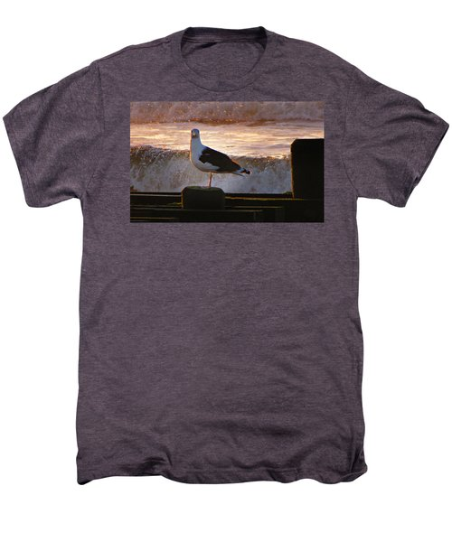 Sittin On The Dock Of The Bay Men's Premium T-Shirt by David Dehner