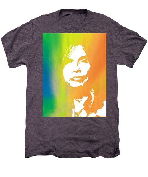 Steven Tyler Men's Premium T-Shirt by Dan Sproul