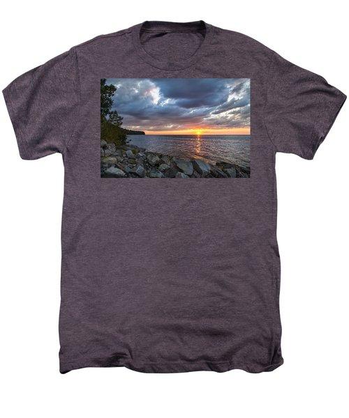 Sundown Bay Men's Premium T-Shirt by Bill Pevlor