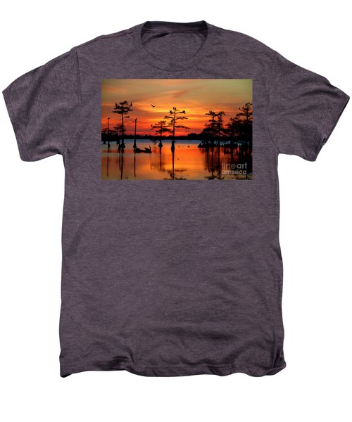 Sunset On The Bayou Men's Premium T-Shirt