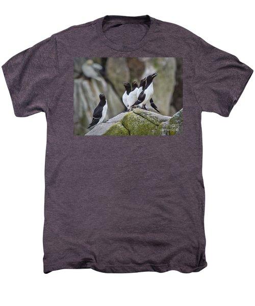The Chorus Line Men's Premium T-Shirt by Evelina Kremsdorf
