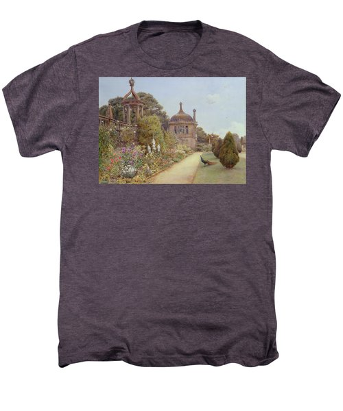 The Gardens At Montacute In Somerset Men's Premium T-Shirt by Ernest Arthur Rowe