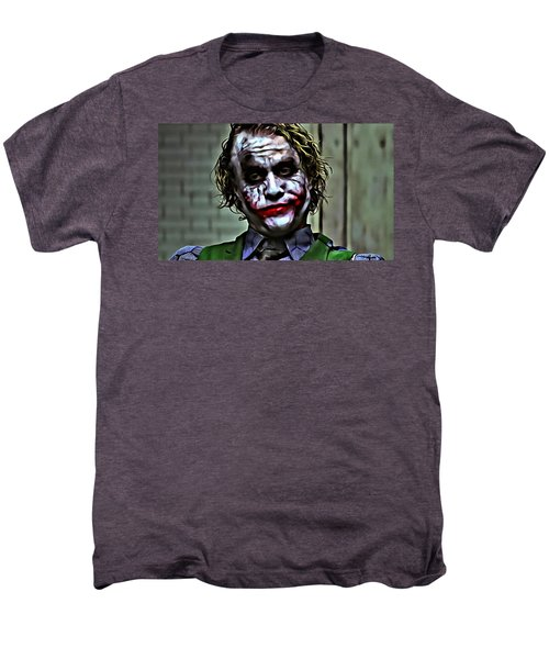 The Joker Men's Premium T-Shirt by Florian Rodarte