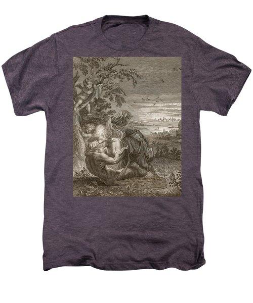 Tithonus, Auroras Husband, Turned Into A Grasshopper Men's Premium T-Shirt by Bernard Picart