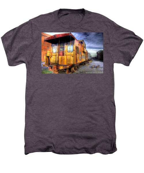 Train Caboose Men's Premium T-Shirt