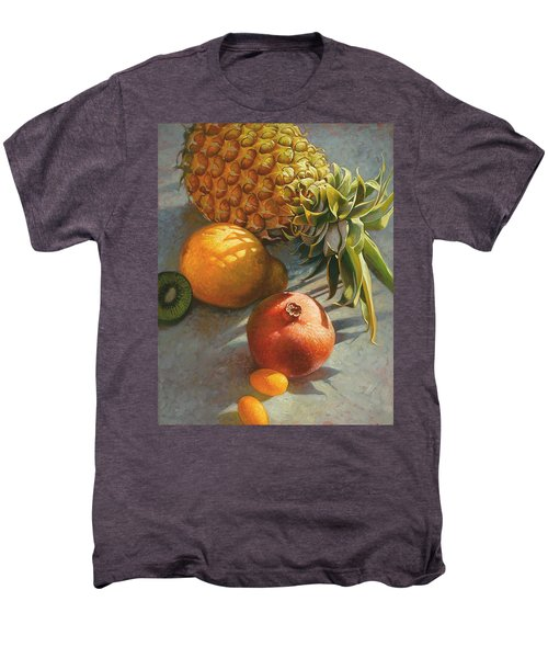 Tropical Fruit Men's Premium T-Shirt