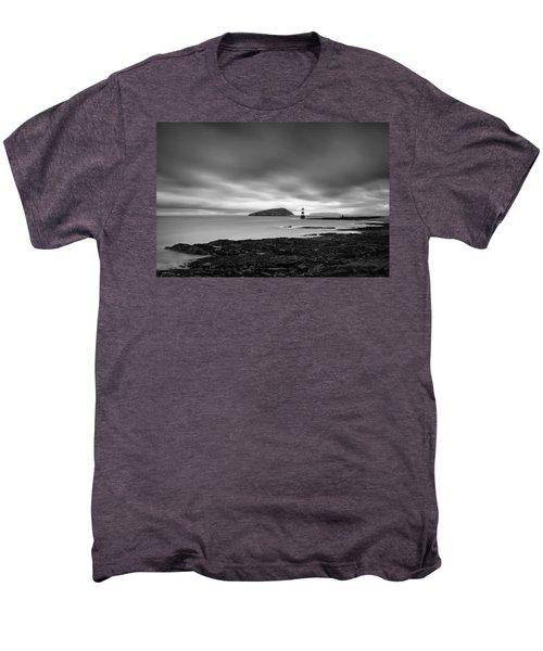 Trwyn Du Lighthouse 1 Men's Premium T-Shirt