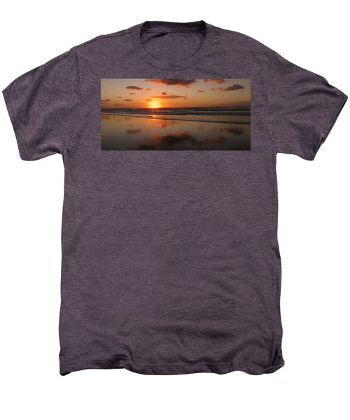 Wildwood Beach Sunrise Men's Premium T-Shirt by David Dehner